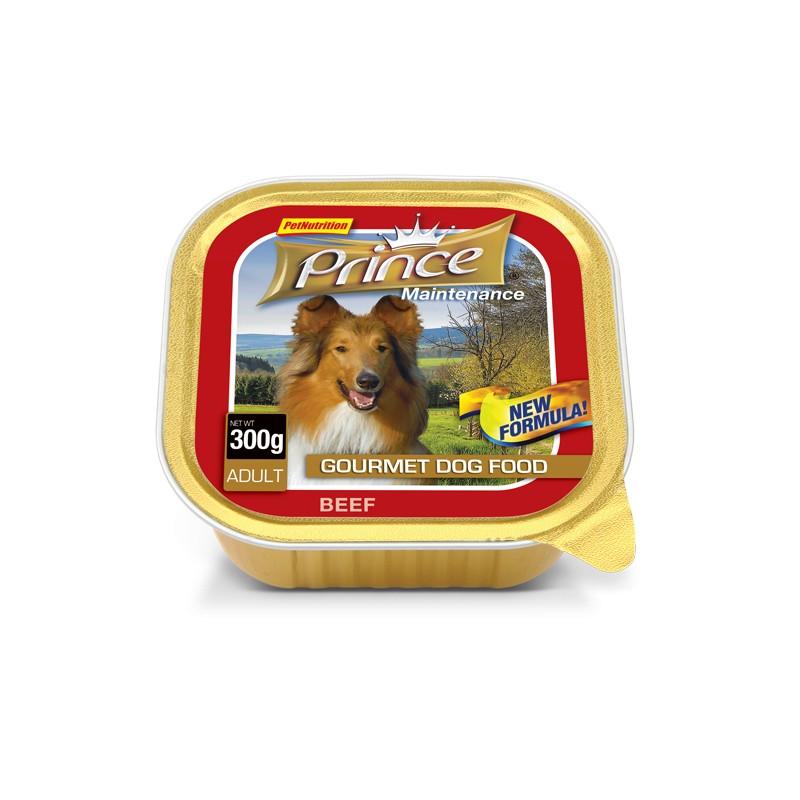 PRINCE Pate Dog 300 g Hovädzie