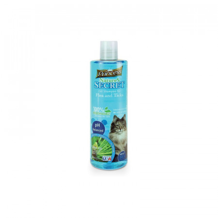 detail PRINCESS Cat šampón Flea & Tick 475 ml proti blchám a kliešťom