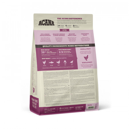 detail ACANA FIRST FEAST CAT 1,8 kg