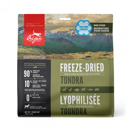 detail ORIJEN Freeze Dried Foods Tundra Dog 170 g